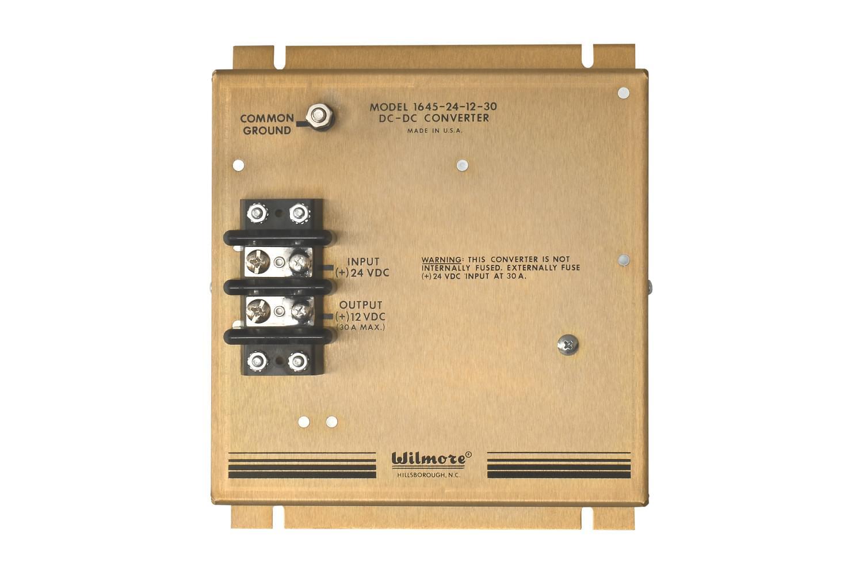 12VDC 13.6V NOR 30AMP 1645-24-12-30 NEW WILMORE 1645 DC to DC CONVERTER 24VDC